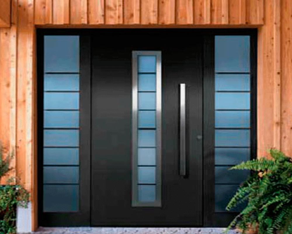 Puerta aluminio interior amazing puerta de interior for Puertas aluminio interior cristal